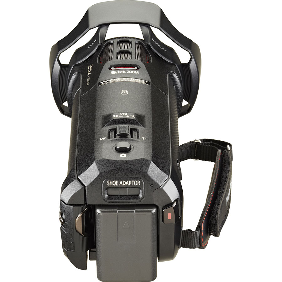 Panasonic HC-WX970 - Vue de dos