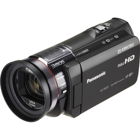 Panasonic HC-X920 - Vue principale
