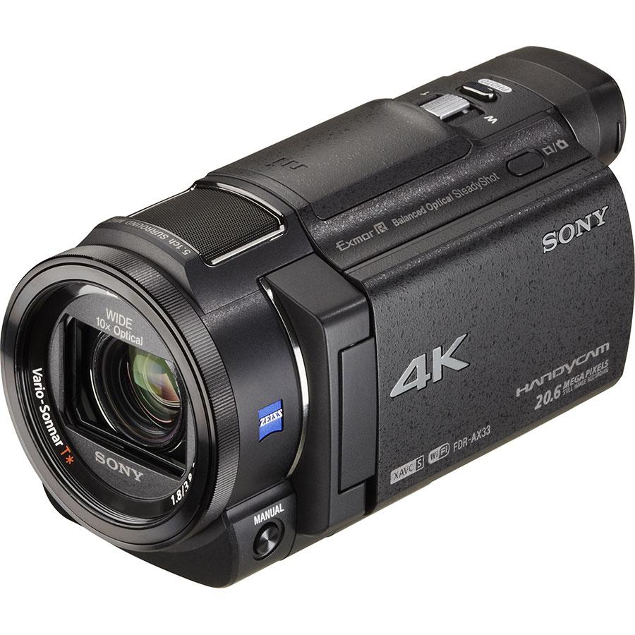 Sony FDR-AX33 - Vue principale