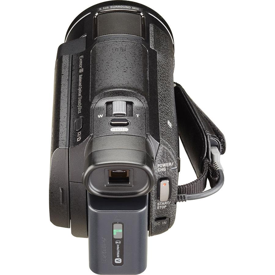 Sony FDR-AX33 - Vue de dos