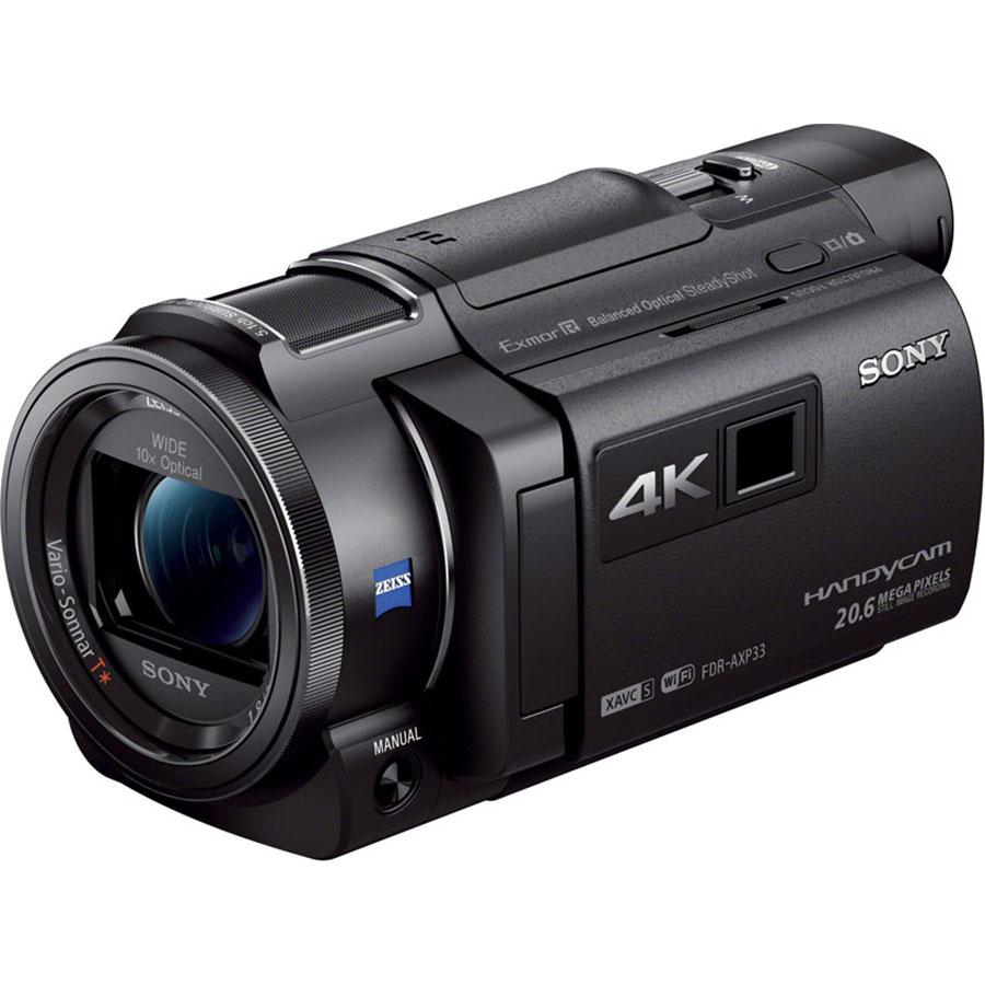 Sony FDR-AXP33 - Vue principale