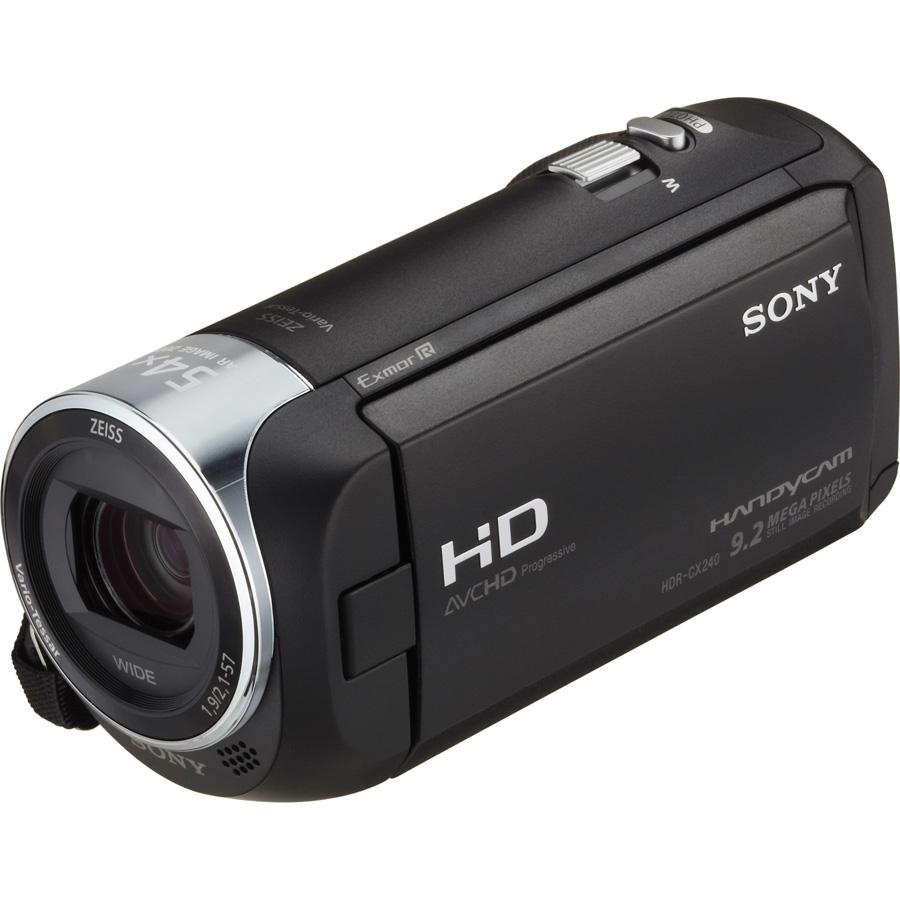 Sony HDR-CX240 - Vue principale