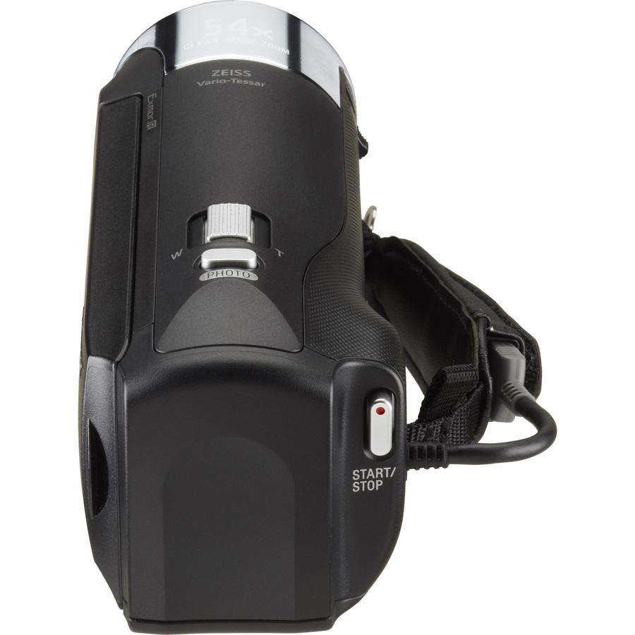 Sony HDR-CX240 - Vue de dos