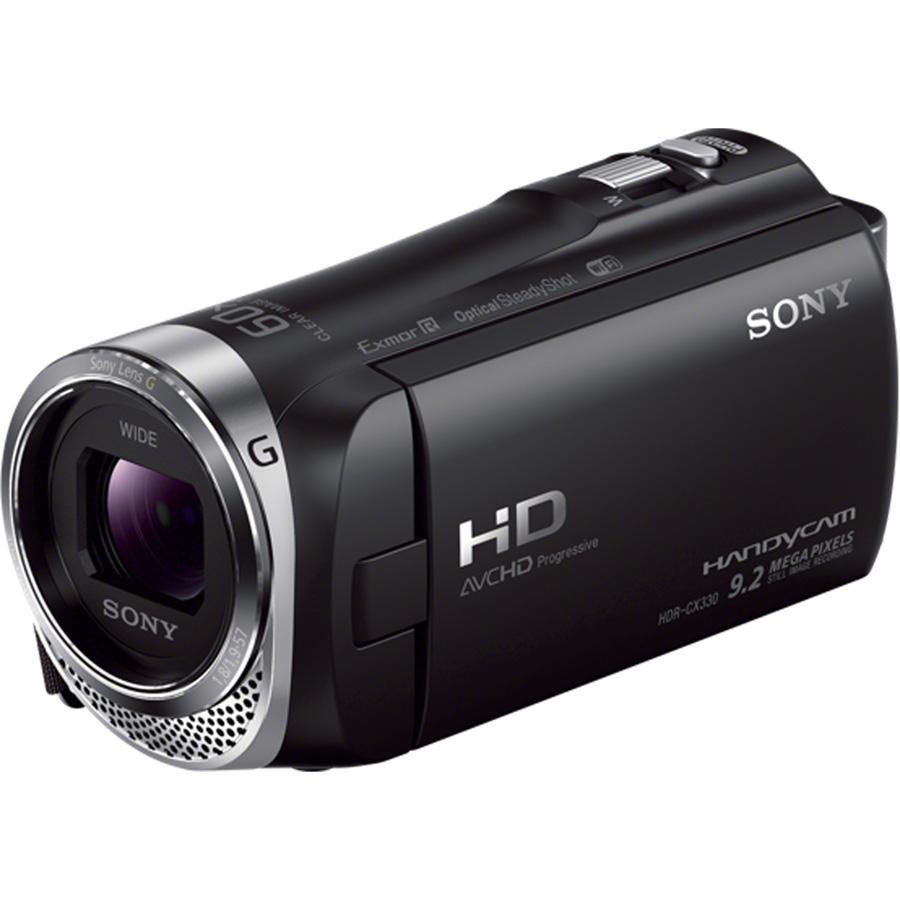 Sony HDR-CX330 - Vue principale