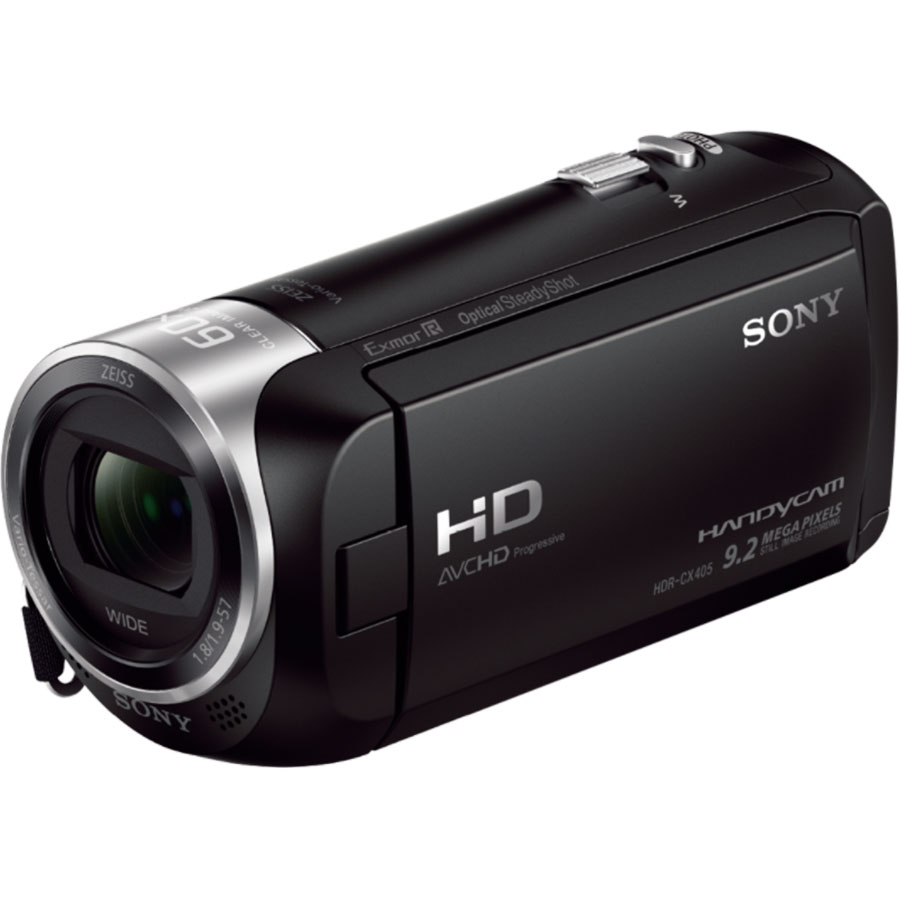Sony HDR-CX405 - Vue principale