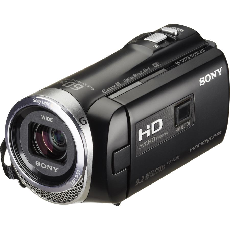 Sony HDR-PJ330 - Vue principale