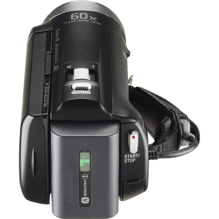 Sony HDR-PJ330 - Vue de dos