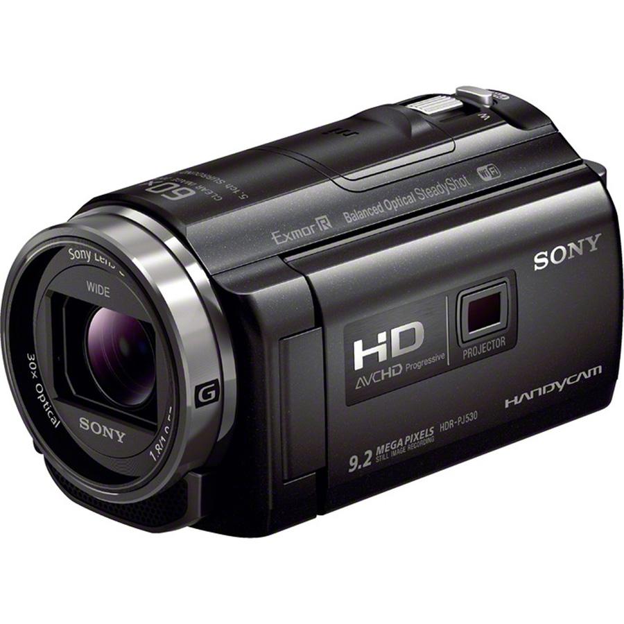 Sony HDR-PJ530 - Vue principale