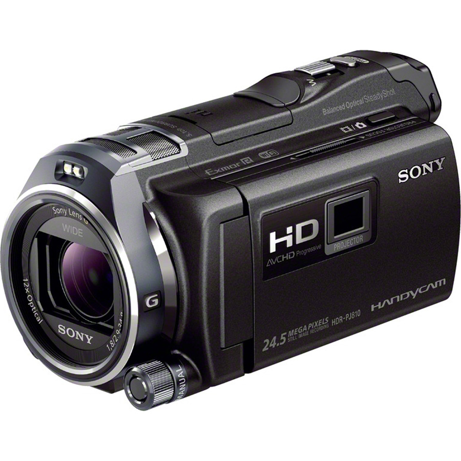 Sony HDR-PJ810 - Vue principale