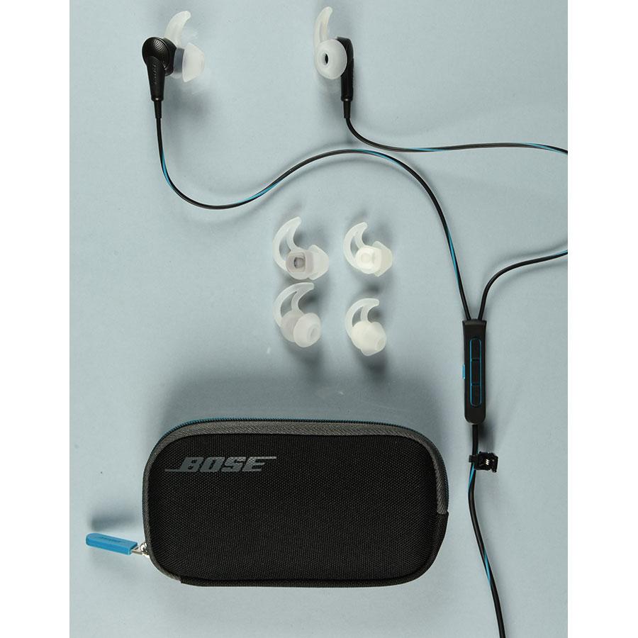 Bose QC20 (QuietComfort) - Accessoires fournis