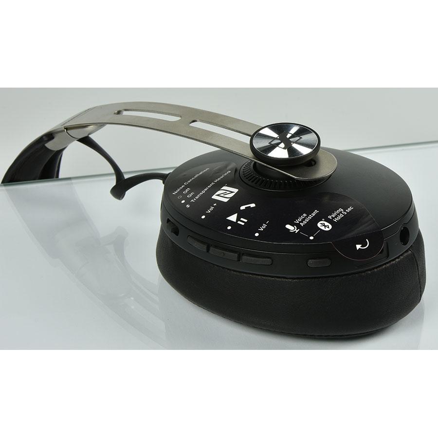 Sennheiser Momentum 3 Wireless - Boutons de commandes