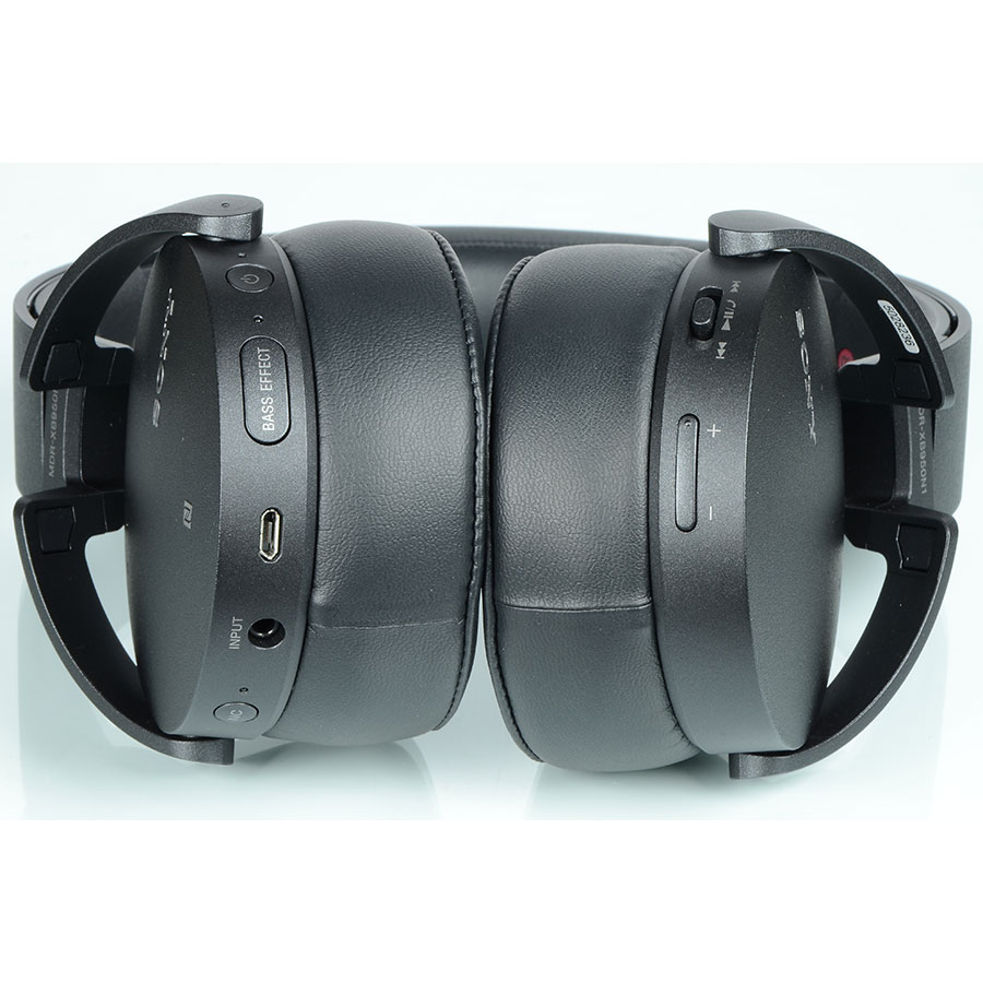 Sony MDR-XB950 N1 - Boutons de commandes