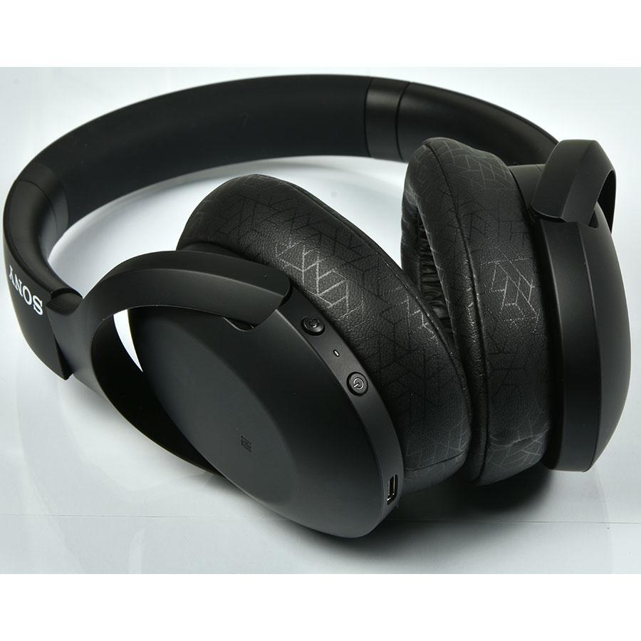 Sony WH-H910N - Boutons de commandes