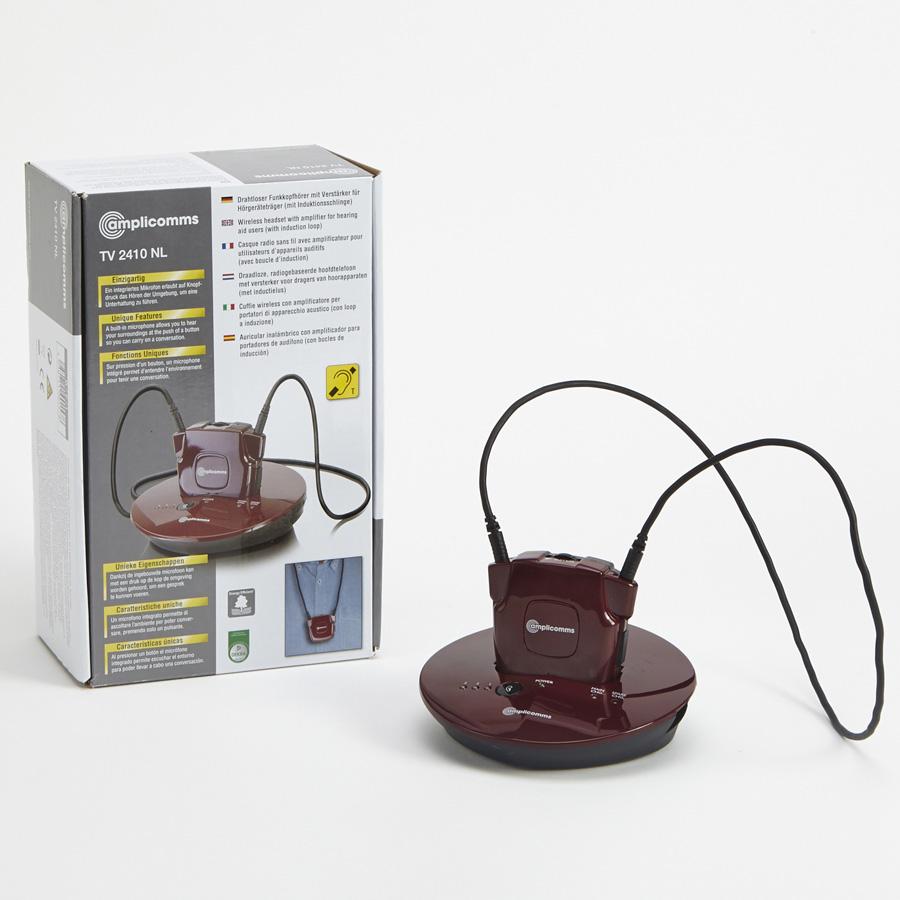 test amplicomms tv2410nl casques tv pour malentendants. Black Bedroom Furniture Sets. Home Design Ideas