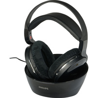 Philips SHD8850 								- Casque sur son support de charge