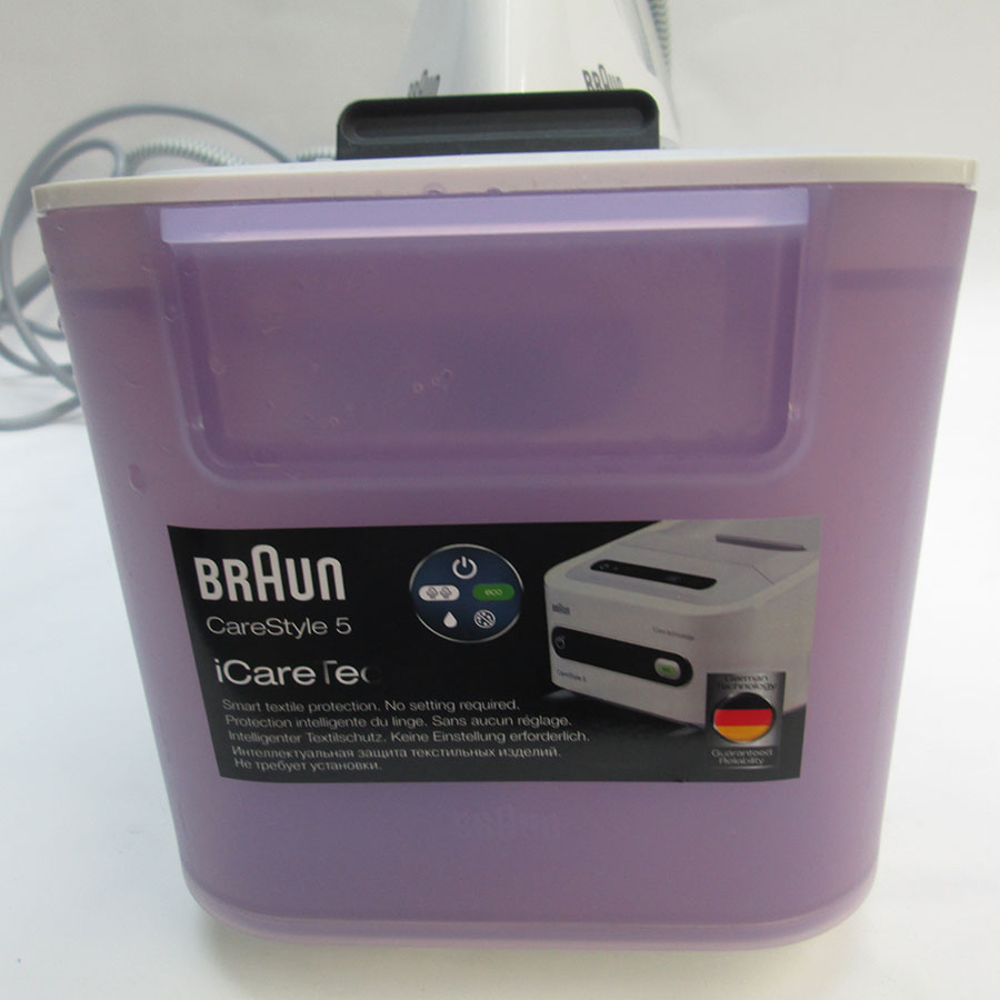 Braun IS5043WH CareStyle 5  - Bouton d'émission de vapeur