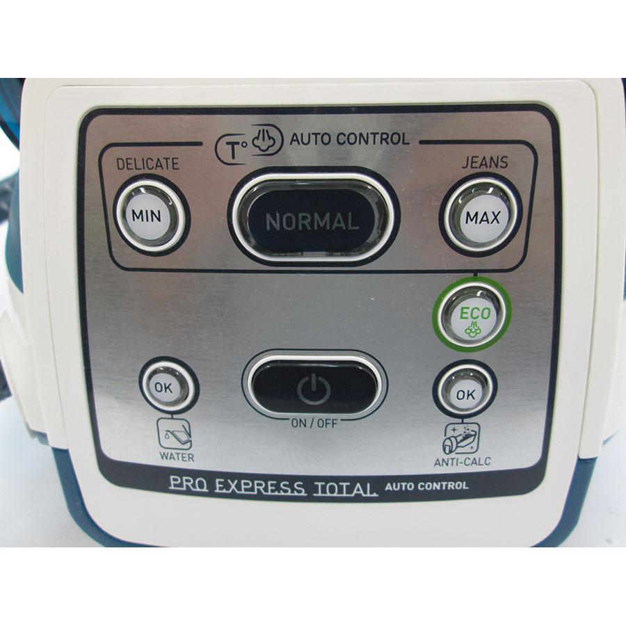 Calor GV8962C0 Pro Express Control Plus - Vue de gauche
