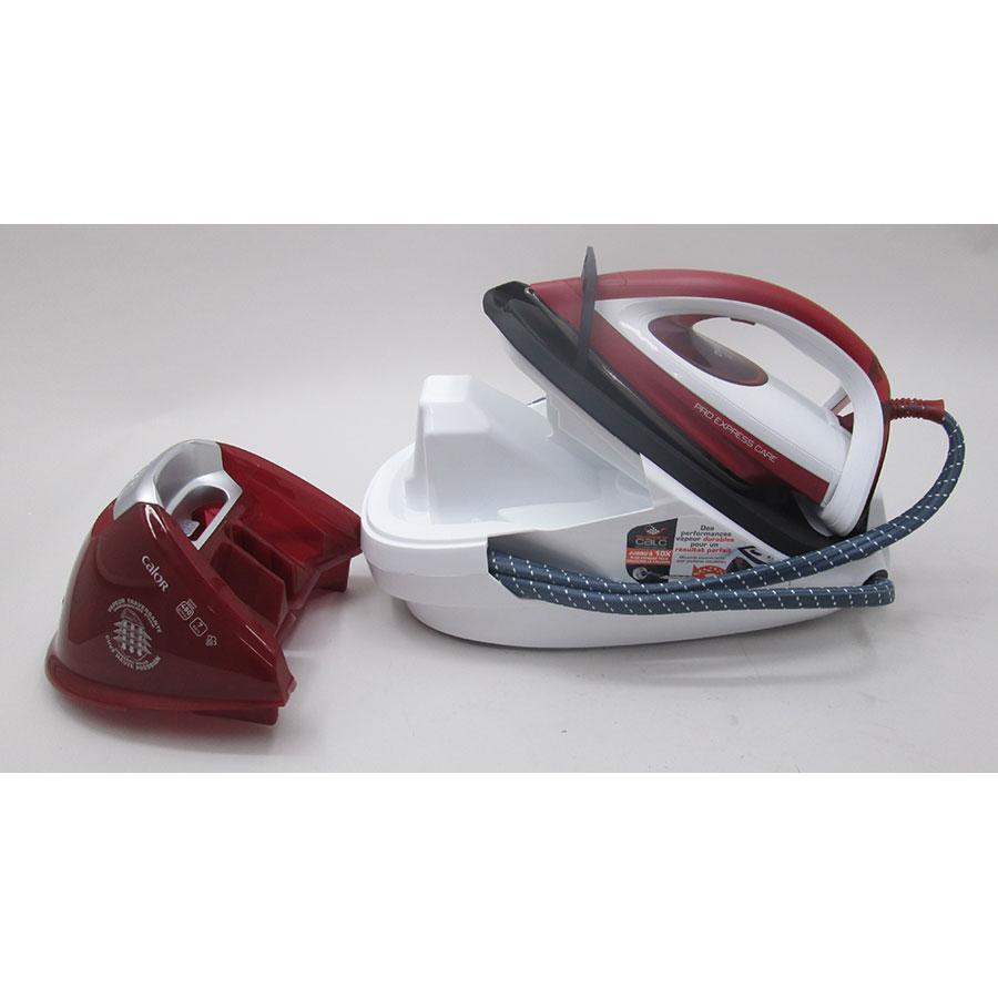Calor GV9061C0 Pro Express Care - Compartiment de rangement du cordon électrique
