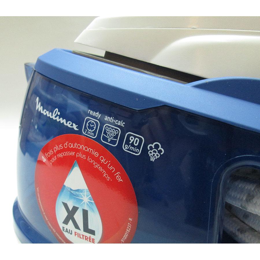 Moulinex SV5015C0 Purely & Simply - Sérigraphie des fonctions
