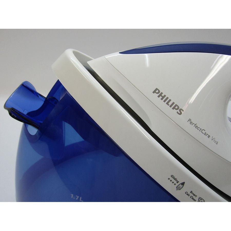 Philips GC7015/20 PerfectCare Viva - Bouton d'émission de vapeur