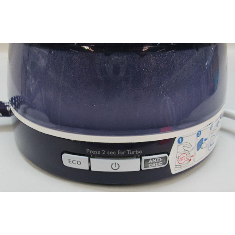 Philips GC7642/35 PerfectCare Pure - Semelle du fer