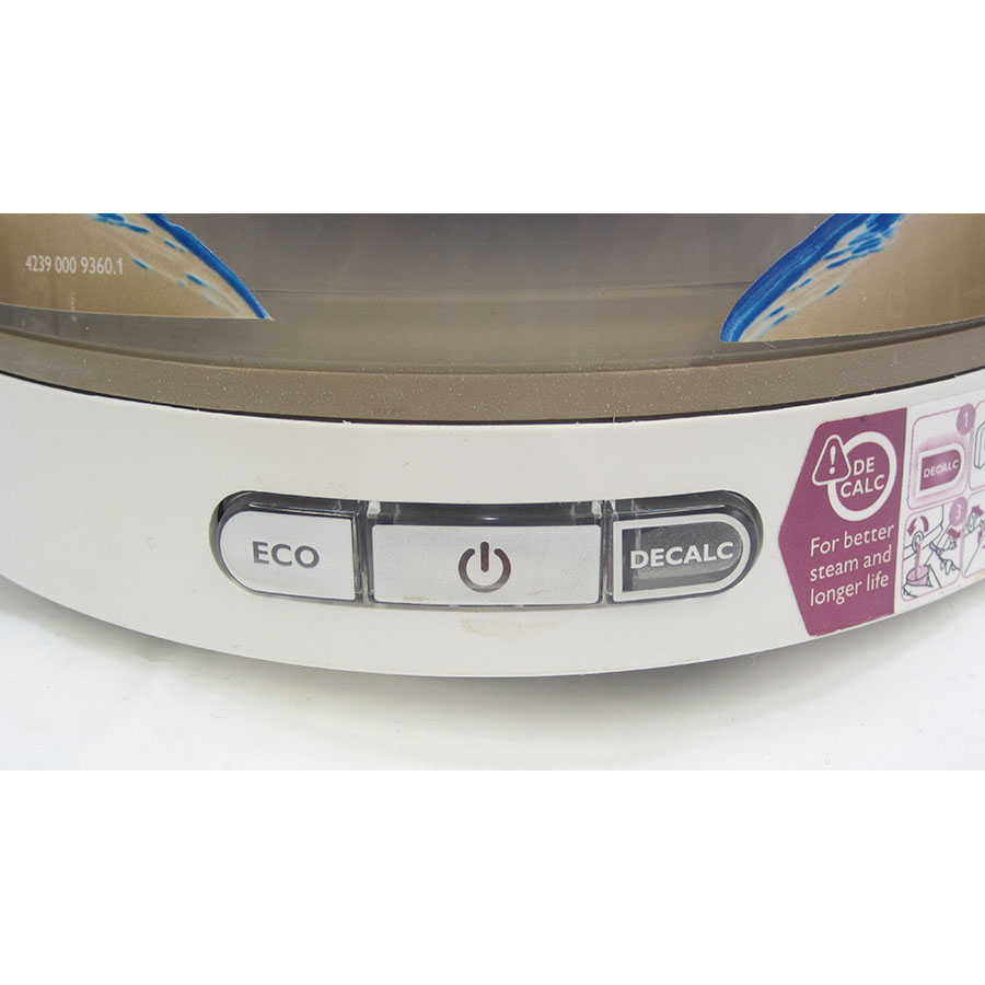Philips GC8651/10 Perfect Care Aqua Silence - Accès au collecteur de calcaire