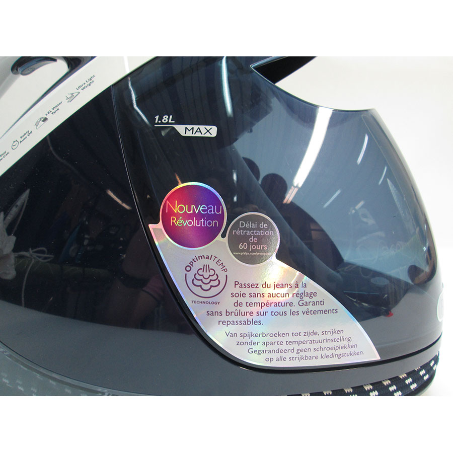 Philips GC9630/20 PerfectCare Elite - Allégations marketing