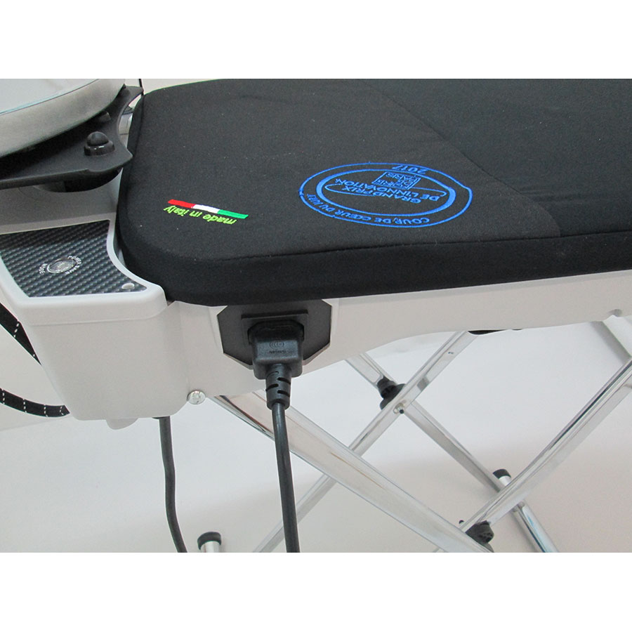 Euroflex IB40 Vapo Lux  - Branchement du cordon d'alimentation
