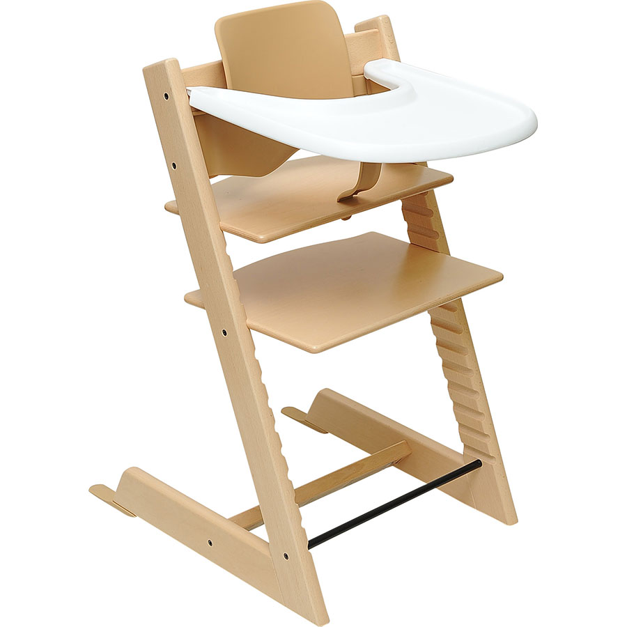 test stokke tripp trapp avec babyset et tablette. Black Bedroom Furniture Sets. Home Design Ideas