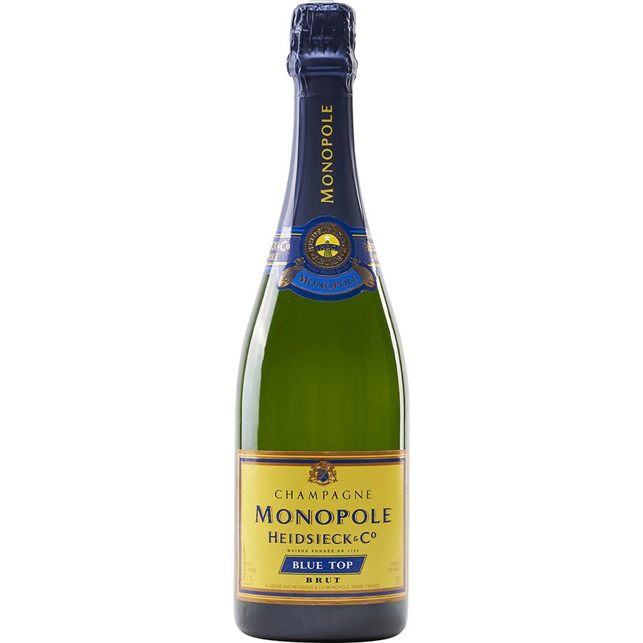 Heidsieck & Co Cuvée Monopole Blue top -