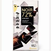 Auchan Noir 72% cacao