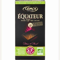 Cémoi Bio Equitable Équateur Noir 72% de cacao