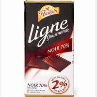 Poulain Ligne Gourmande Noir 70%