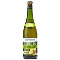 Monoprix Cidre bouché de Normandie