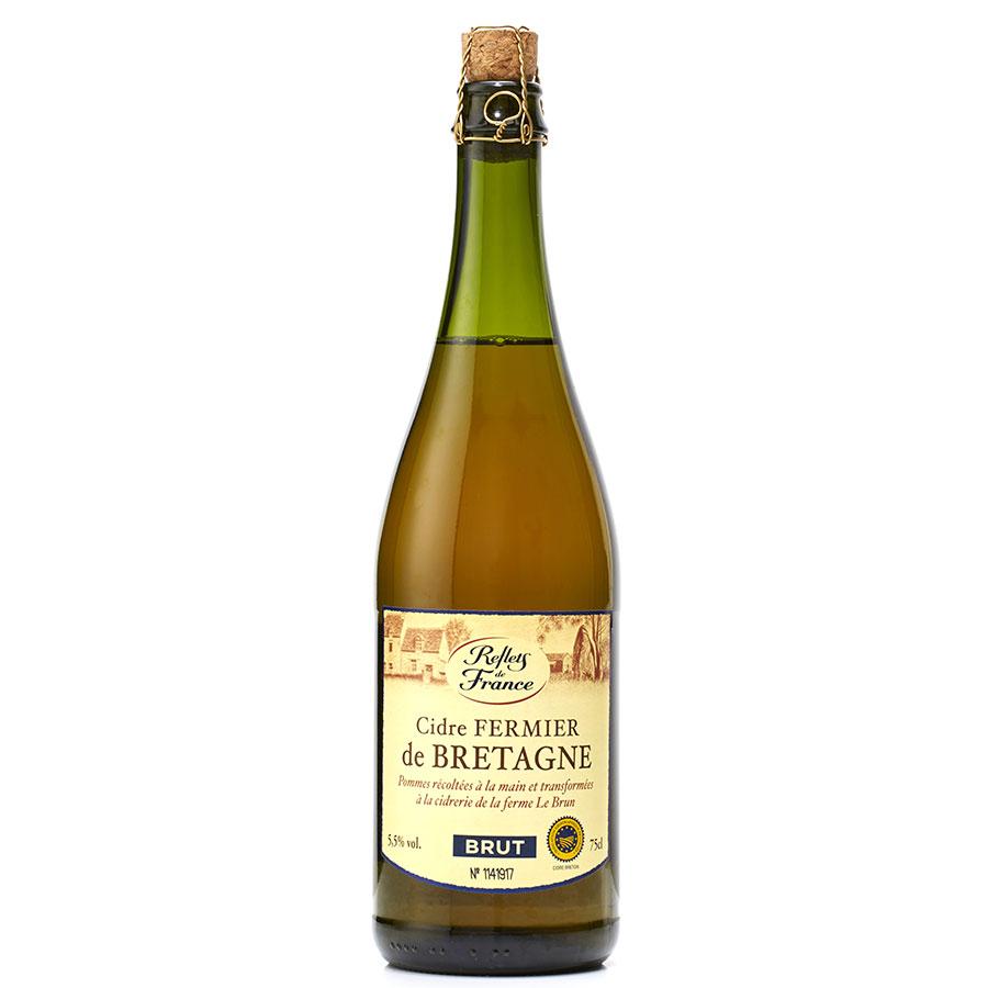 Carrefour - Reflets de France  Cidre fermier de Bretagne -