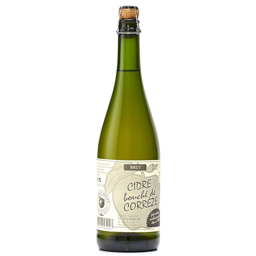 Cidrerie Janty Cidre bouché de Corrèze -