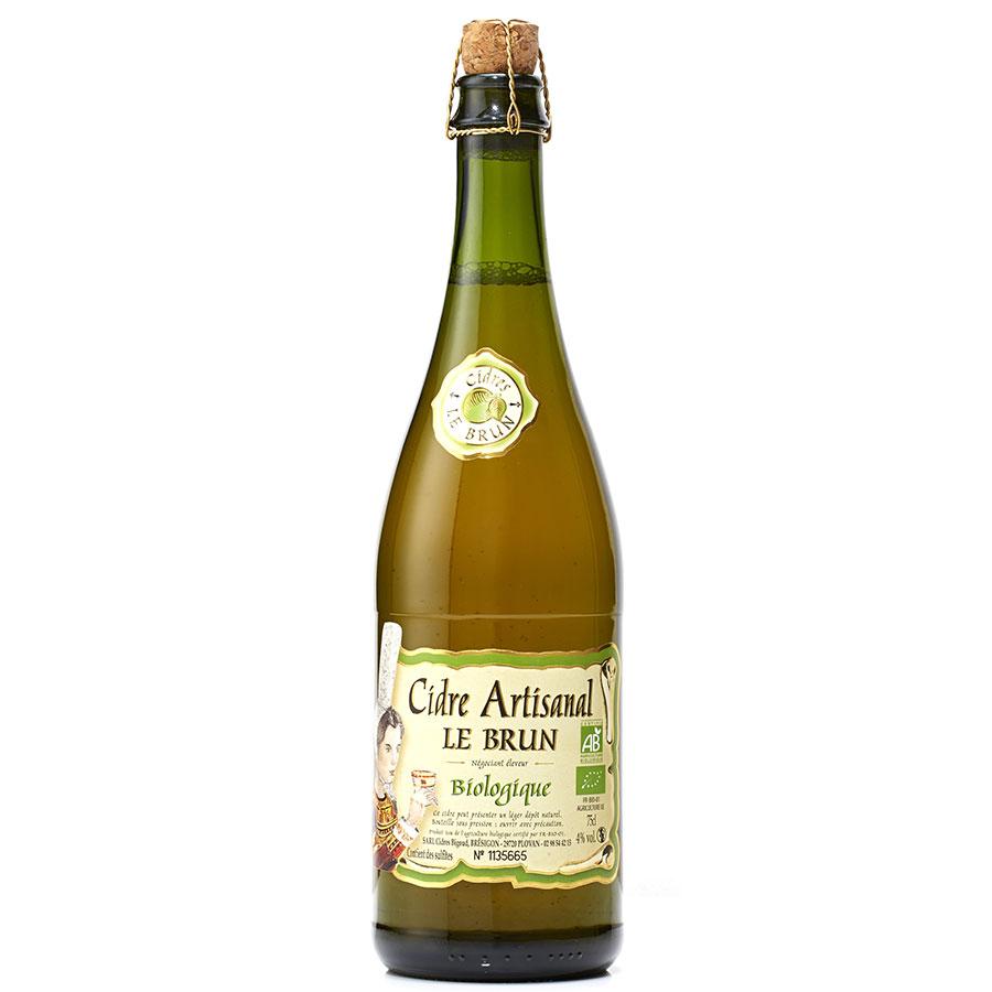 Le Brun  Cidre artisanal bio -