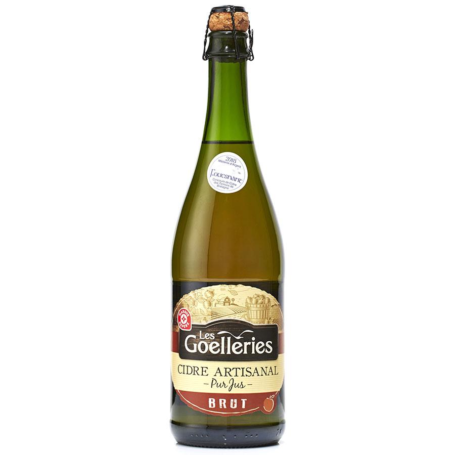 Leclerc - Marque repère - Les Goelleries Cidre artisanal -