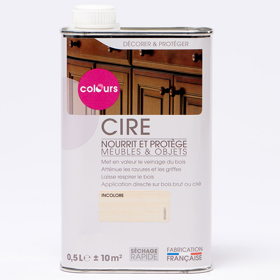 Colours (Castorama) Cire meubles & objets -