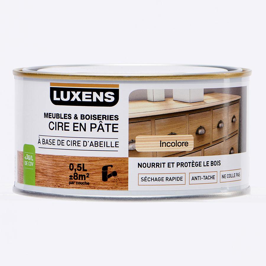 Luxens Leroy Merlin Cire En Pâte Meubles Boiseries