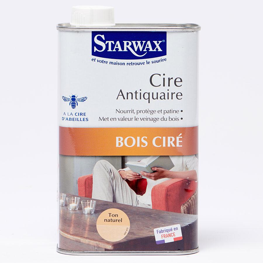 Starwax Cire antiquaire Bois ciré -