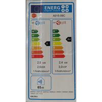 Equation A015-09C - Étiquette énergie