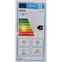 Proline PAC8290 - Étiquette énergie