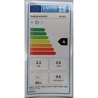 Taurus Alpatec AC 201 - Étiquette énergie