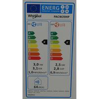 Whirlpool PACW29HP - Étiquette énergie