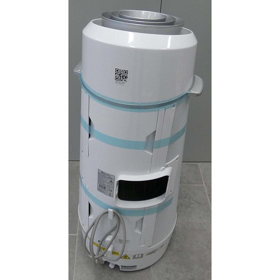 Electrolux WP71-265WT - Vue de dos
