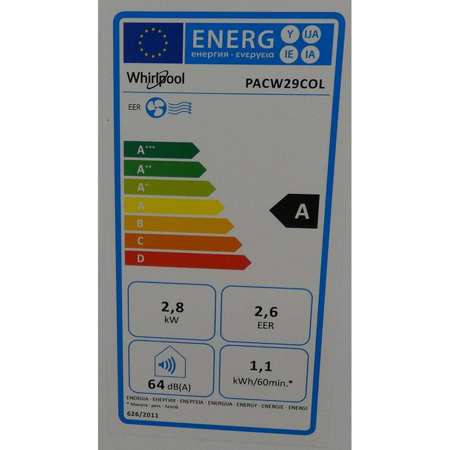 Whirlpool PACW29COL - Étiquette énergie