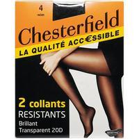 Chesterfield 2 collants résistants brillant transparent