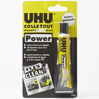 Uhu Colle Tout Power Transparente Flex & Clean