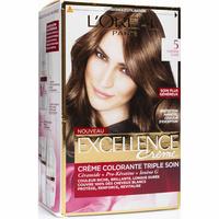 L'Oréal Excellence crème, 5 châtain clair -